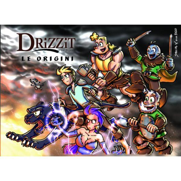 Drizzit Vol.0 - Le origini - Copertina