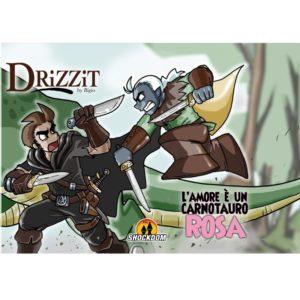 Drizzit Vol.3 - L'amore è un carnotauro rosa - Copertina