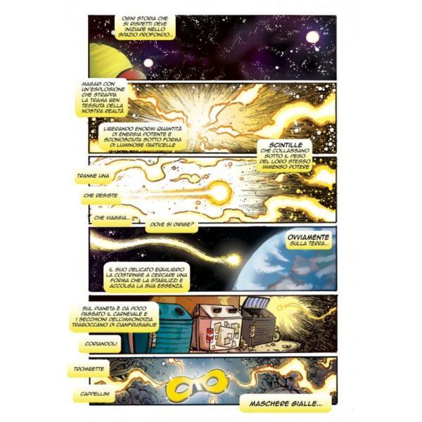 Maschera Gialla 1 - Pagina interna