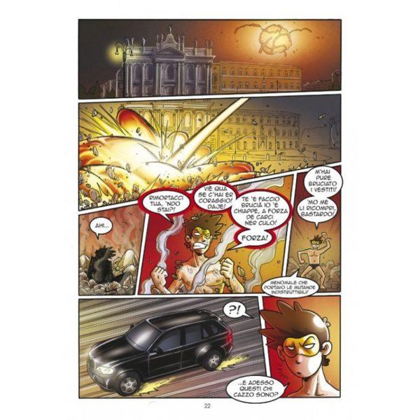 Maschera Gialla 2 - Pagina interna