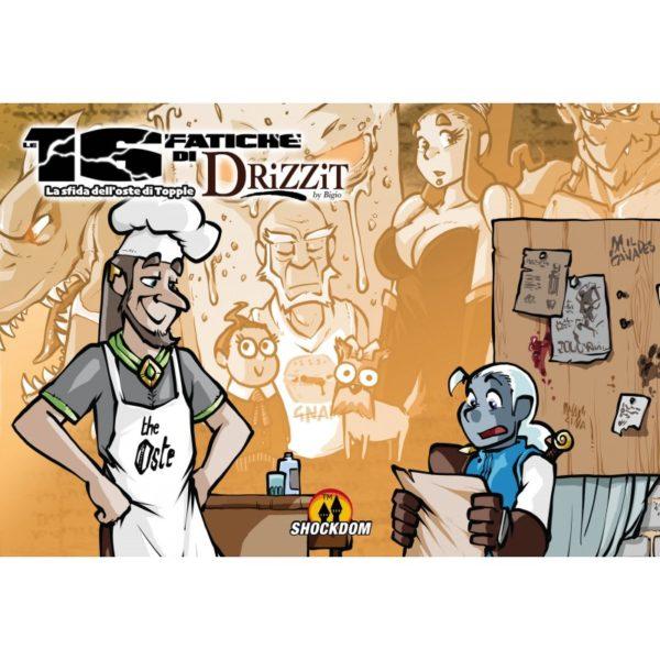 Drizzit vol.8: Le 16 fatiche di Drizzit – La sfida dell'oste